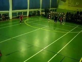 один из моих голов в чемпионате Казахстана по футзалу 2011/12 г.