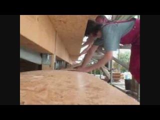 Строительство соломеннх домов в Германии