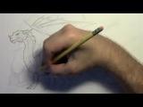 Рисуем Дракона в аниме стиле