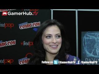 Лара Пулвер Lara Pulver Обсуждение сериала Da Vinci's Demons