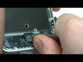 Видео 8. Замена кнопки Home на iPhone 4S
