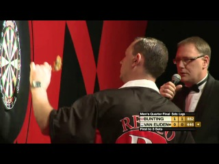 Stephen Bunting vs Remco van Eijden (Winmau World Masters 2013 / Quarter Final)