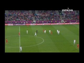 Чемпионат Европы 2012 / Группа A / 1-й тур / Россия — Чехия / | ТРК Украина (08.06.2012) 2 Тайм