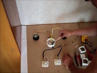 Как сделать из одного выключателя тройной