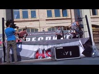 Антон Дерябин против Алексея Щукина против Кувалды за титул Чемпиона НФР