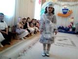 Ясмина на выпускном спела песню на татарском языке - Гармунче бит этием