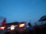 Rammstein, Рок над Волгой 2013, начало выступления