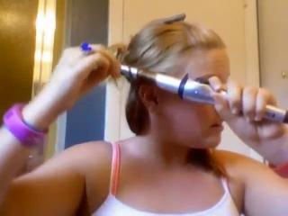 Спалила волосы плойкой :DDD Девушки не повторяйте такого никогда))))