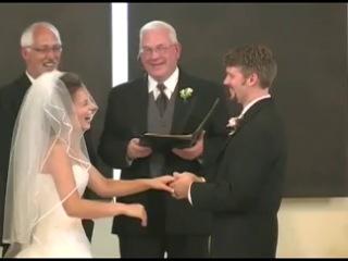 Истерика у невесты. Чувствую, так будет и на моей))