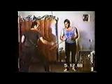 Молодой Михаил Рябко 1988г(на квартире у В.Васильева)