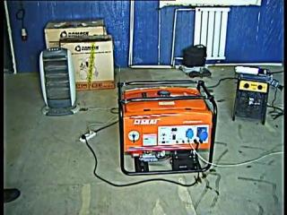 Бензиновый генератор Skat УГБ-4000