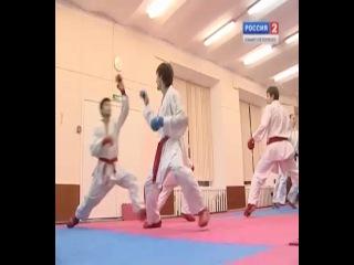 Телеканал Россия 2. Интервью Тебуев Мырза-Бек и Шерозия Инга
