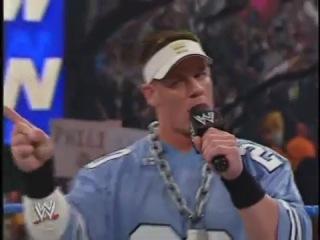 John Cena disses Kenzo Suzuki | WWE SmackDown 01/07/2004