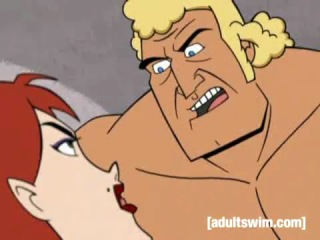 Brock Samson vs Molotov Cocktease