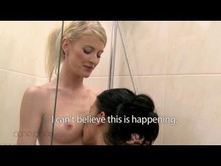 Tereza and Kate - Lesbian Shower Fantasy