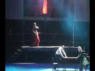 Электровиолончель Софи на Международной Олимпиаде Боевых Искусств-Будо-Шоу
