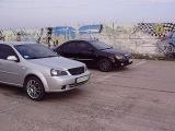 Chevrolet Lacetti 1.8 vs Kia Cerato 1.6, г. Мариуполь (Встреча D2.ru)