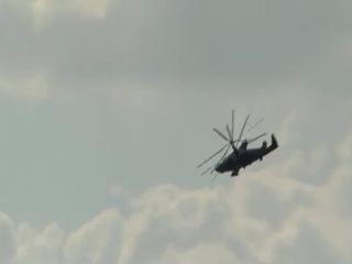 Праздник 100 лет ВВС России - К-52 Алигатор