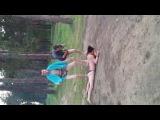 Неудачный прыжок с тарзанки