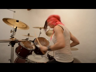 Suicide Silence 'No Time To Bleed' Drum Cover (by Nea Batera)