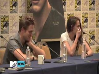 Kristen Stewart Talks 'Breaking Dawn' Rated R Sex Scene