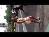 Inna I Vania LA DANCE CITY WALK!)))