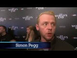 2013 ComicCon Simon Pegg Nick Frost and Edgar Wright Of The Worlds End