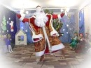 Дед Мороз зажигает в детском саду