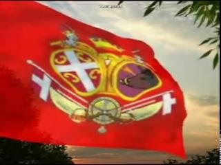 Srpske zastave i grbovi kroz istoriju Serbian flags and coats of arms through history
