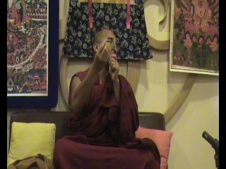 Лама Тензин Зангпо. Практика Ваджракилайи, цог. Часть 5 из 13