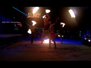 Fire show on Phi-Phi-Don Islands