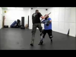 Ирландский палочный бой с короткой палкой bata