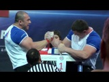 World Armwrestling Grand Prix A1 RUSSIAN OPEN 2012 Арсен Лилиев vs Андрей Пушкарь