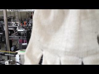 Станок для производства перчаток (Короткое видио 1)