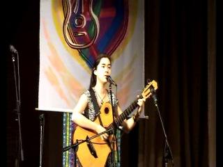Карина Ан исполняет песню Александра Дольского