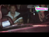 Emily VanCamp & Josh Bowman with Nick Wechsler depart Bootsy Bellows in West Hollywood