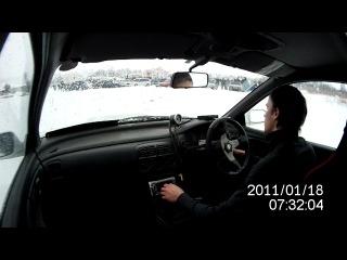 Ледовые гонки 2012 регистратор