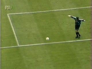 25 Испания - Англия (ЕВРО 1996 - обзор матча).