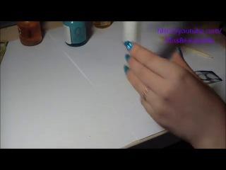 35_Зеркальные ногти Фольга для ногтей!