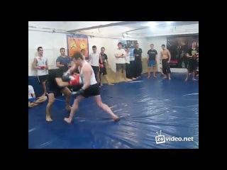 боксёр против рукопашки