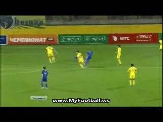Анжи - Динамо М 3:3 (Обзор матча)