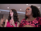 Yvette Nicole Brown and Alison Brie of 'Community' at Comic-Con 2012