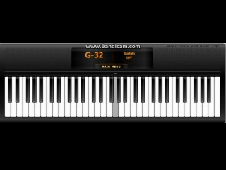 Пятое видео на Virtual Piano - Yiruma, Kiss The Rain