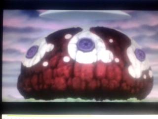 Кадр из аниме Блич. Грязная сценка меносов.
