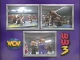 (WWE.my1.ru) WCW World War 3 1996 - 60 Man Battle Royal in Three Rings (WCW World Heavyweight Championship)