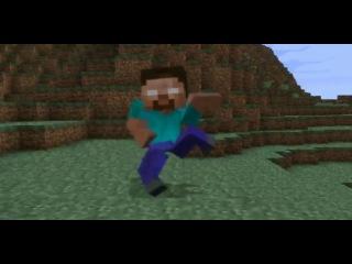 Анимация№2-Herobrine in Minecraft(Хиробрин в Майнкравте)
