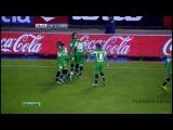 Хоэль Кэмпбелл видео гол. Депортиво - Бетис. Чемпионат Испании по футболу 15 тур. Footballer.name