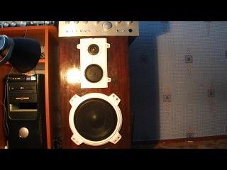 Звучание Амфитон 35АС-018 и Амфитон 25у-002с(Idenline ft. K.Melody – Никто кроме тебя)