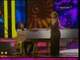 Жанна Фриске и Дмитрий Маликов - Старый рояль (Песни Кино)