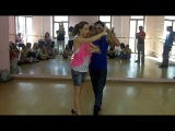Dadinho Jefferson & Suelen Branco - Workshop. Samba de Gafieira Combination - optional moovements. Step-by-Step